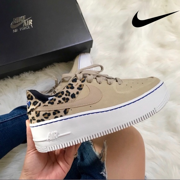 Air Force 1 Sage Low Premium Animal Women's Shoe in 2019